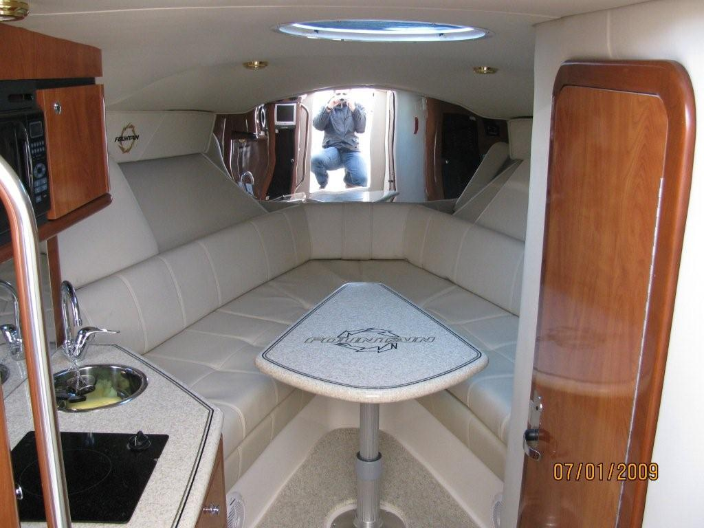 SATILIK Fountain 38 LX below. Boat: Fountain 38 Sportfish Luxury Edition